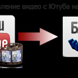 Как добавить свое видео с Ютуба на блог